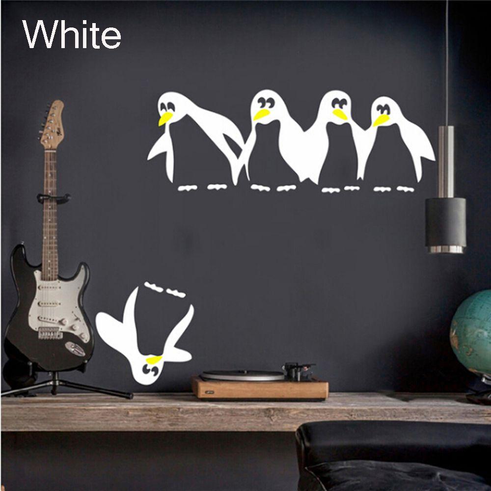 HTB12z8qQpXXXXc3aXXXq6xXFXXXi - 1PC Funny Penguin Kitchen Fridge Sticker