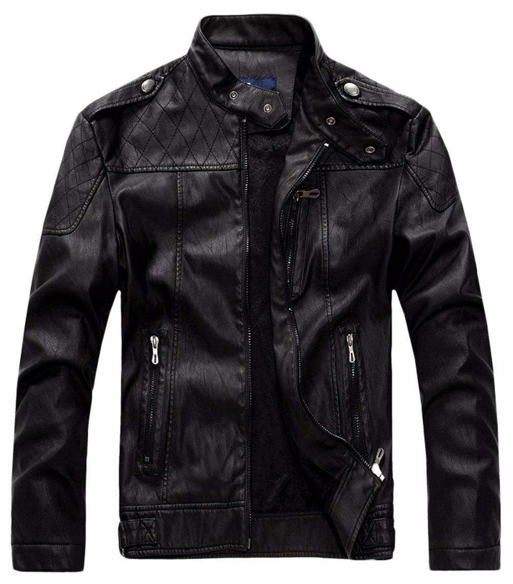 Mens jacket online - Shanghai Story Pu Leather Jacket Men Jaqueta De Couro Masculina Brand Mens Jackets And Coats Skinny
