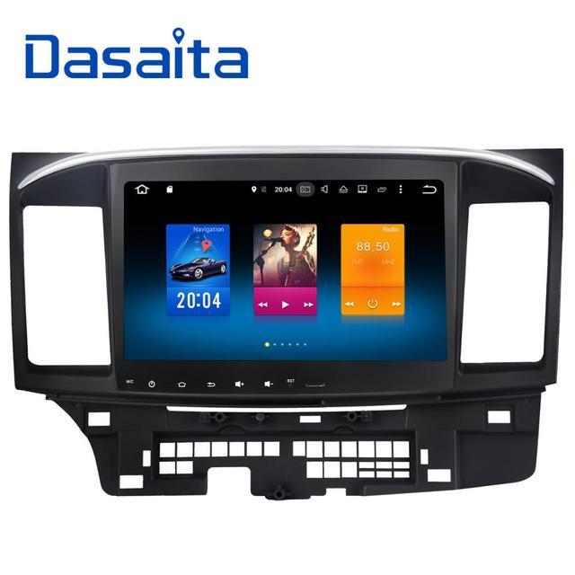 """Dasaita 6,0 """"Android 10,2 Octa Core автомобильный DVD gps плеер для Mitsubishi Lancer 10 EVO стерео Авто радио головное устройство мультимедиа"""