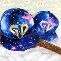 Caliente Bigbang g-dragon GD Snapback Sombrero Gorras de Béisbol de la galaxia Star Sky Galaxy Snapback Unisex Enarboló El Sombrero de Hip-Hop Casuales al aire libre