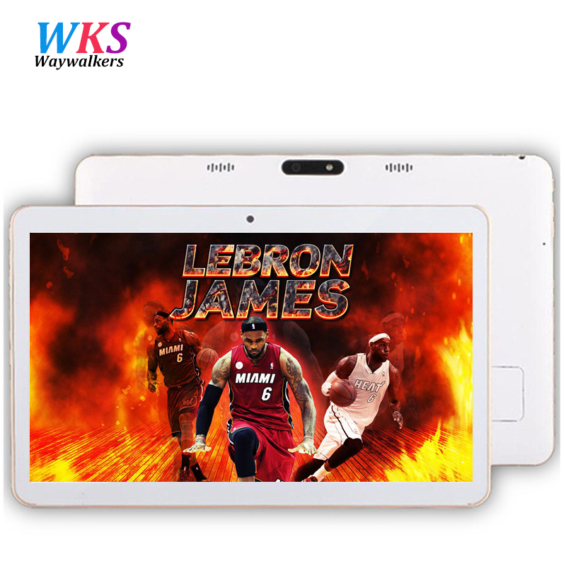 Waywalkers 10 6 inch Octa Core Smart android tablet pc 1366 768 IPS screen phone call