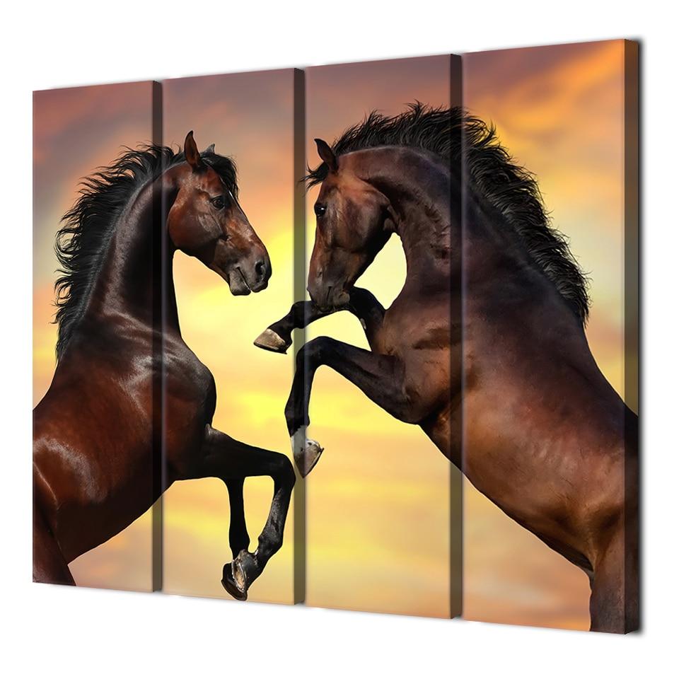 Beautiful Horse Canvas Wall Art Decor Contemporary - The Wall Art ...