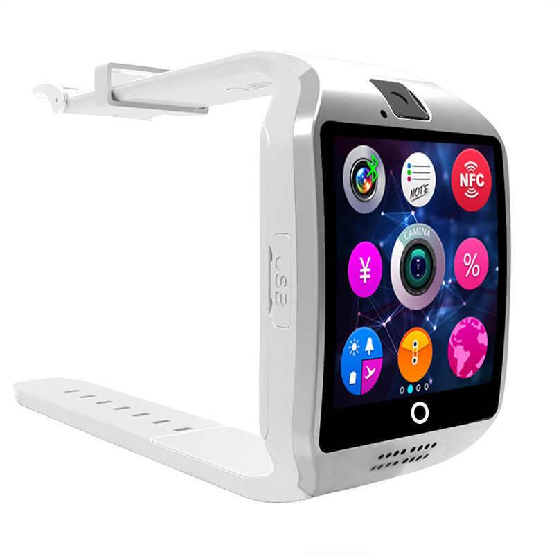 S1 Bluetooth Смарт-часы Q18 умные часы для телефонов на базе Android с Bluetooth часы с шагомером, Камера SIM карта TF Facebook, Whatsapp, умные часы