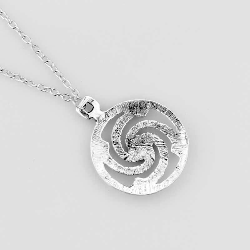 Solar Anhänger Serpentin Anhänger & halsketten Baltischen Hakenkreuz Solar Symbol Viking männer Halskette Erklärung Schmuck Dropshipping