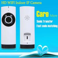IP Camera 180 Degree Panoramic Fisheye Lens HD 720P Wi Fi Two Way Audio Baby Monitor