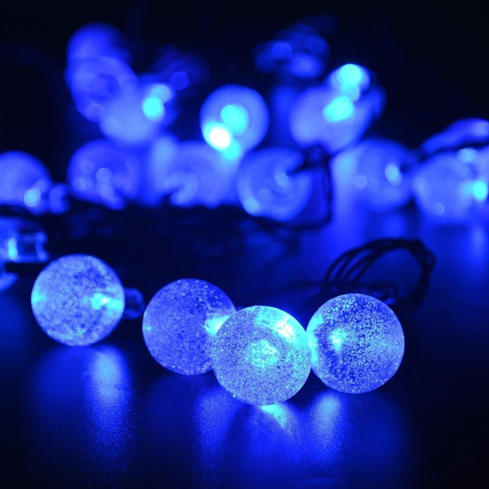 Outdoor Fairy Lights Solar Powered: Online Shop Solar Outdoor String Lights 20ft 30 LED Crystal Ball Solar  Powered Globe Fairy Lights for Garden Fence Path Landscape Decoration |  Aliexpress ...,Lighting