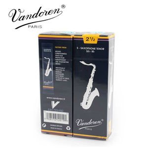 Image 4 - Original France Vandoren Traditional Saxophone Tenor Bb Reeds Strength 2.0# 2.5#, 3#, 3.5#, Box of 5 [[with gift]]