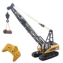 font b RC b font Truck Tower Crane 16CH 2 4G Remote Control Hoist Constructing