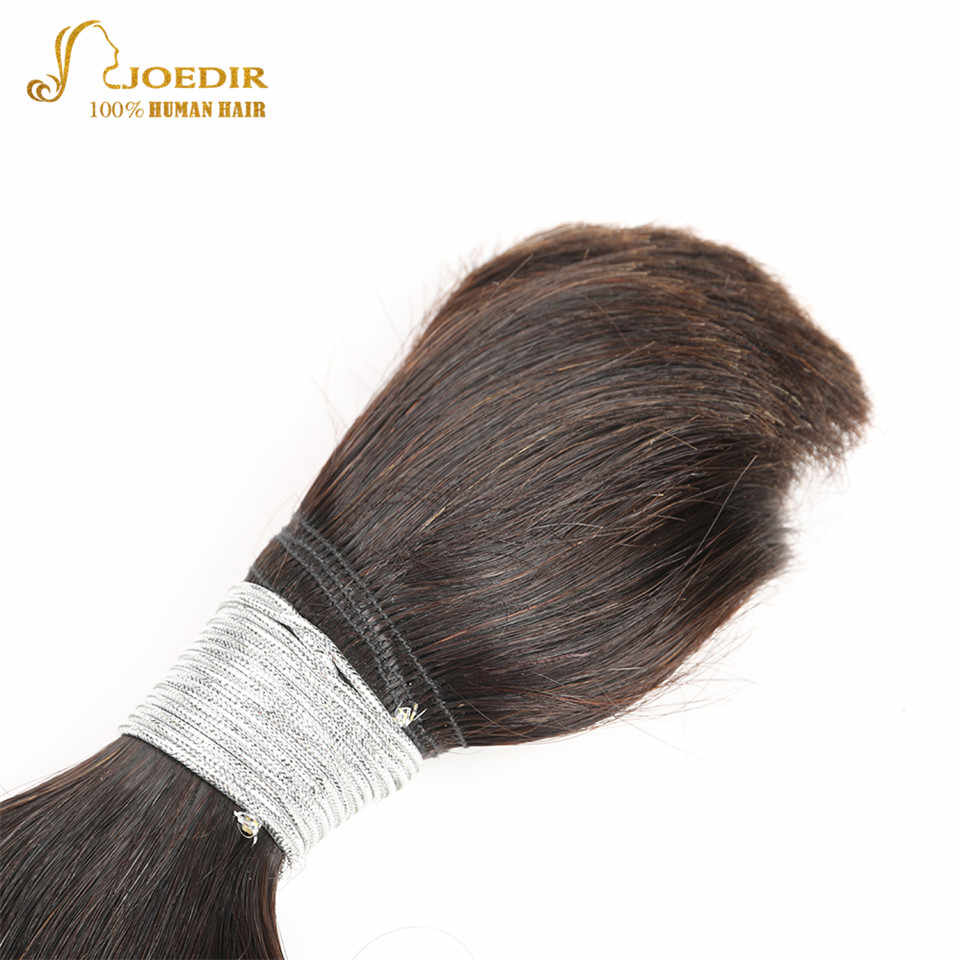 Joedir Remy бразильские объемные волосы пучки человеческих объемных волос для плетения человеческих волос Плетение объемных волос 30 дюймов пучки волос плетение