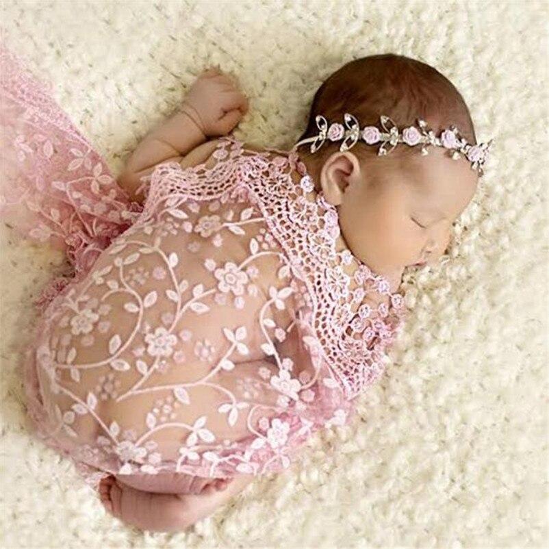 Newborn Baby Girl Boy Sleep Swaddle Blanket Wrap Costume Photo Photography Prop