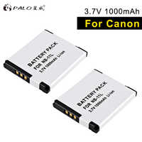 PALO NB-11L 2pcs li-ion camera battery for Canon SX430 IXUS 265 260 185 180 175 125 132 140 135 IXUS240 245HZ A2300 2400 2500 IS