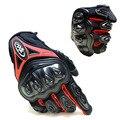 Мотоцикл Перчатки Открытый Сенсорный Экран Дышащие Защитные Перчатки guantes moto Полный Палец-Мотоцикла Защитная Gears