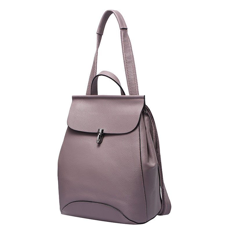Corfeiter Genuine Leather Women Backpacks for Female Backpack Cow Leather Ladies Double Shoulders Bags 35