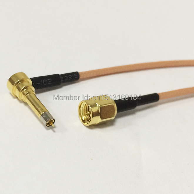 New  SMA Male Plug To MS156 Right Angle Connector RG316 Coaxial Cable Pigtail 15CM 6inch Huawei Modem Cable Adapter