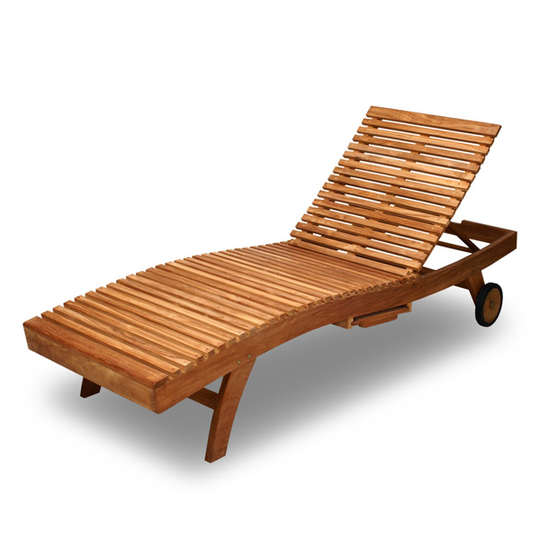 Indonesia Imports Teak Outdoor Leisure Furniture Wood - Outdoor Teak Loungers