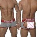 Sexy Brand Mens Underwear Boxer Trunks tanga hombre Jockstraps cueca boxer Gay Underwear calzoncillos Thong G string Underpants