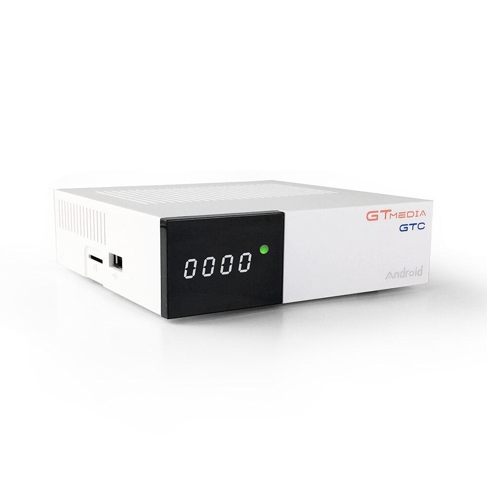 Gtmedia GTC 4 K Android tv box DVB-C Câble Youtube DVB-S2 DVB-T2 Bluetooth 4.0 Récepteur récepteur Satellite Cline Tuner Tv Biss VU - 3