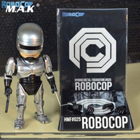 For Collection 16cm Alloy Diecast Robocop Anime Action Figure Model Toys for Children Kid Christmas Collectible Gifts Gift