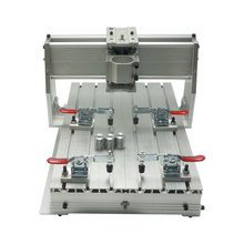 купить DIY mini CNC 3040Z Ball Screw engrave machine frame suitable wood router дешево