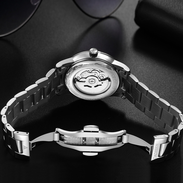 1032 CADISEN Men Watch Automatic Mechanical Role Date Fashione luxury Brand Waterproof Clock Male Reloj Hombre Relogio Masculino 1
