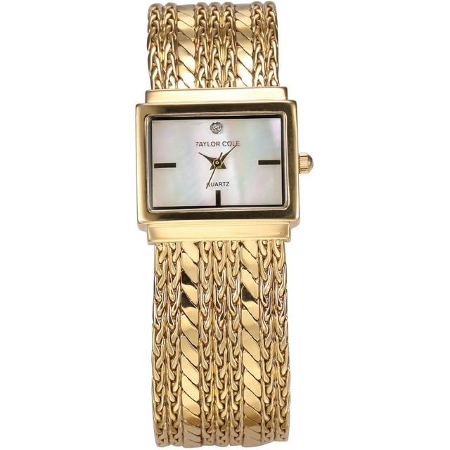 Marca de lujo Taylor Cole señora Women oro caja de latón de la borla de la 8f47c1f7438a