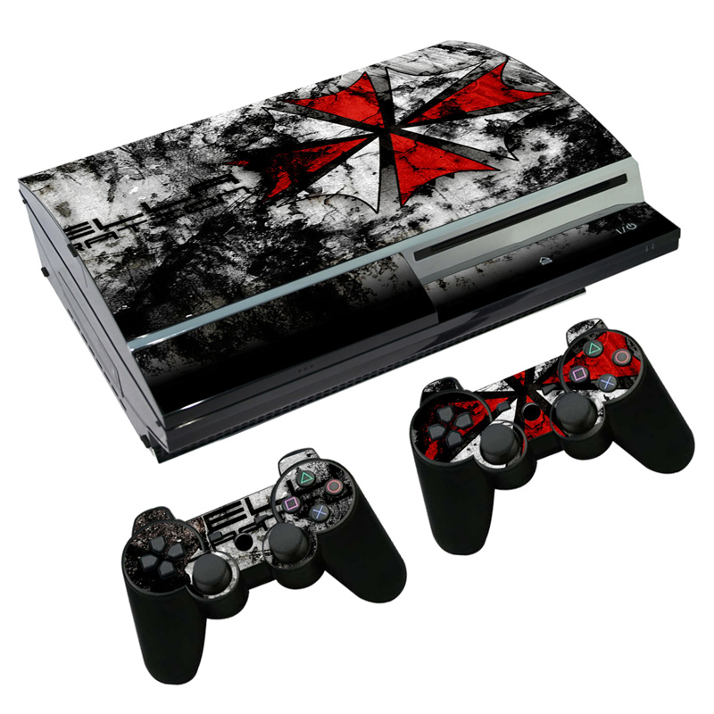 5d055f2c5f Game Resident Evil Skin Sticker Decal for PS3 Fat PlayStation 3 Console and  Controllers For PS3 Skins Sticker Vinyl - aliexpress.com - imall.com