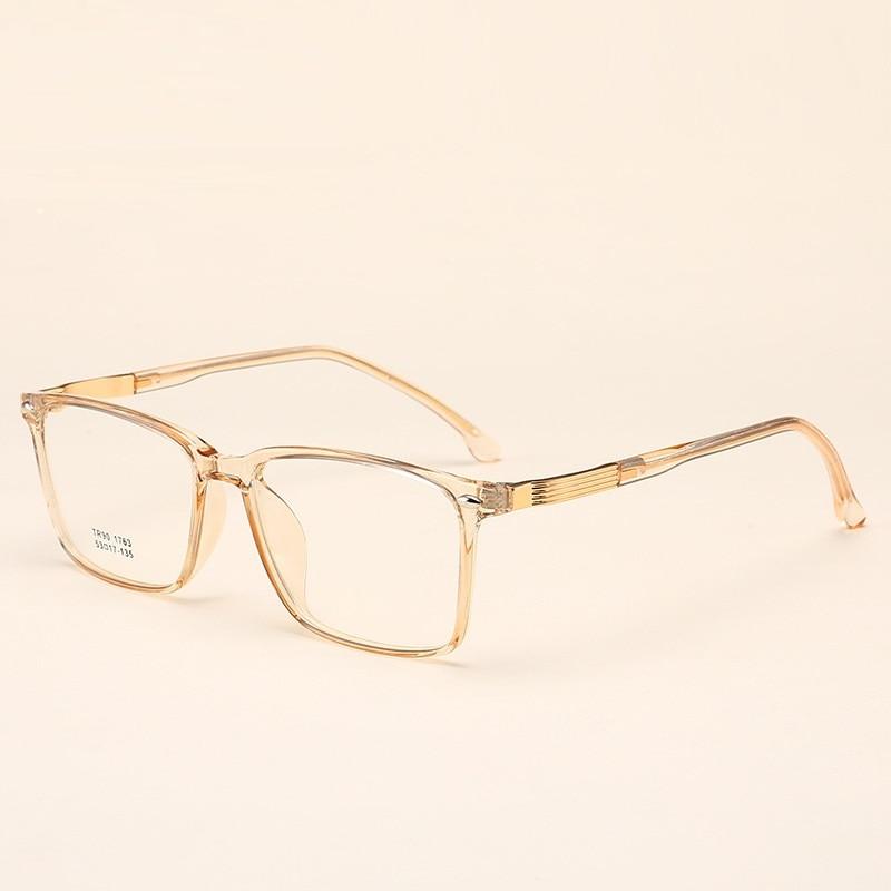 Brille Männer Frauen matte 1 1 Myopie Vazrobe Optische 67 Black Brillen grau Index Objektiv Rahmen Tr90 Transparent rosa 1 56 Schwarzes 61 Harz fwwvzItq