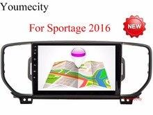 2G + 16G mutilmedia Android 6.0 reproductor de dvd del coche gps dvd para KIA sportage 2016 2017 pc del coche de navegación gps unidad principal estéreo del coche