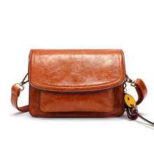 Women Bag Genuine Leather High Quality Brand Luxury Women Leather Handbags Crossbody Bags for Women Purses and Handbags T8020(China)
