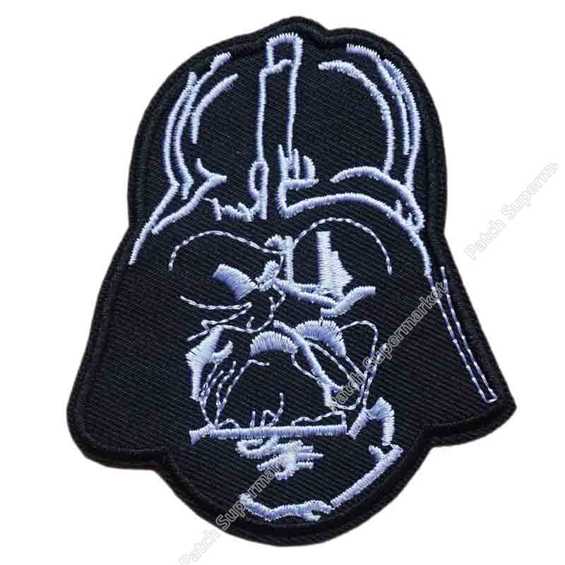 "3.1 ""sith lord darth vader & imperial stormtrooper 스타 워즈 고품질 패치 tv 영화 시리즈 applique sew on iron on patch-에서패치부터 홈 & 가든 의  그룹 1"