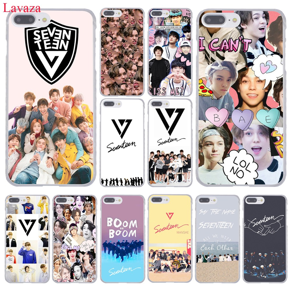 Lavaza KPop Seventeen JEONGHAN <font><b>17</b></font> Hard Coque Shell Phone Case for Apple iPhone <font><b>8</b></font> 7 6 6S Plus <font><b>X</b></font> 10 <font><b>5</b></font> 5S SE 5C 4 4S Cover