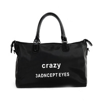 Travel Totes Bag Letters Designed Oxford Women Shoulder Travel Bag Large Capacity Luggage Travel Duffle Bags