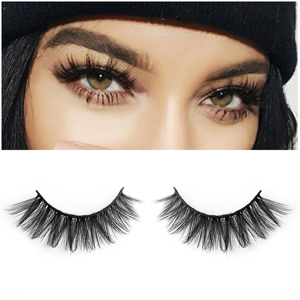 False Eyelashes Able 1 Pair Hot Sale 3d Mink Fur False Eyelashes Thick Long False Eyelashes Extension Beauty Makeup Cosmetic Tools Excellent Quality