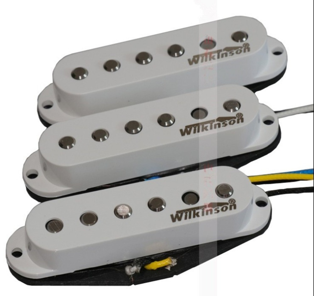 new single wave electric guitar pickup in white made in South Korea WK 8301 1