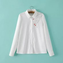 Nice Niceest Women Blouses Hand Fingers Smoking Print Lady Shirts Brief Casual Office Wear Female Tops And Blouse plusLBCN1885