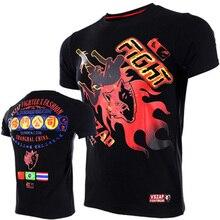 4c279955ee VSZAP 2018 Boxeo MMA T-shirt Luta Boxe Jerseys T-Shirt Muay Thai Mma