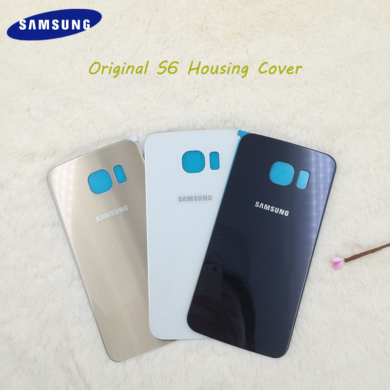 SAMSUNG Case Sticker Battery-Cover Replacement Housing Glass G920 Back Galaxy S6 Adhesive
