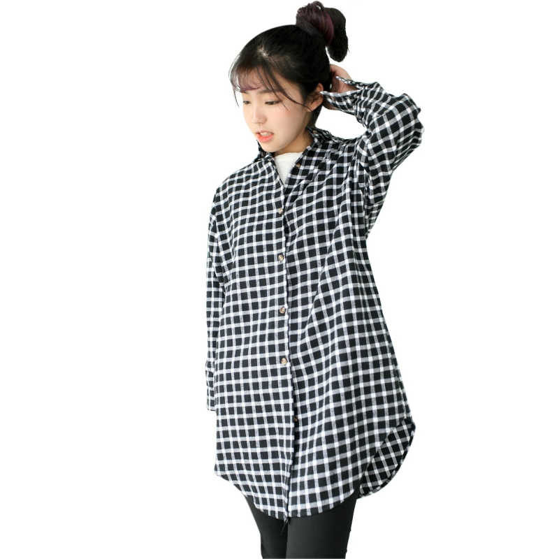 b7598c05 Casual Women Oversize Tunic Casual Tops Plaid Check Blouse Loose Shirt  Factory Price-in Blouses & Shirts from Women's Clothing on Aliexpress.com |  Alibaba ...