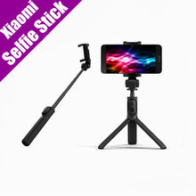 Original Xiaomi Mi Selfie Stick Bluetooth 3.0 Remote Control 360 Rotation Foldable Compact/Wired Version Android 4.3 IOS 5.0+