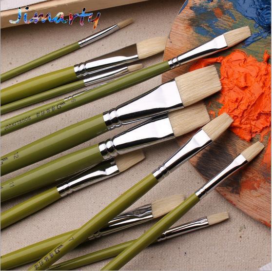 Watercolor Oil Art Drawing Brush Long Handle Art Painting Brush  Pen Acrylic Painting Brush Art Set Watercolor Brush