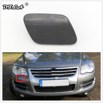 For VW Touareg 2002 2003 2004 2005 2006 Car-styling Front Bumper Headlight Washer Cover Cap Right Passenger Side image