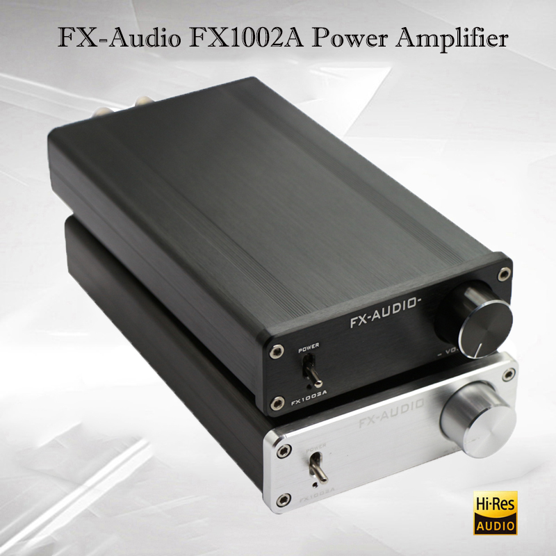 FX-Audio FX1002A Portable Power Amplifier Audio TDA7498E Mini Amplificador Hifi Digital Power Amp Sound Amplifiers 160W amplifiers 2017 fx audio fx1002a 160w 2 tda7498e hifi 2 0 pure digital audio power amplifier mini home aluminum enclosure amp