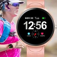 RollsTimi Women Smart Watch Men Heart Rate Monitor Blood Pressure Fitness Tracker Smartwatch Sport Smart Clock Watch IOS Android