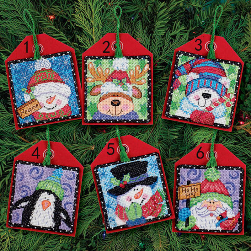 Golden Panno,Needlework,DIY DMC Cross Stitch,Sets For Embroidery Kit 11ct Printed Cotton Thread Christmas Tree Cross-Stitching