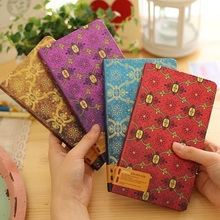 New vintage note book diary for school Notepad A6 96 Sheets Daliy Memos Hardcover Office School Supplies Gift