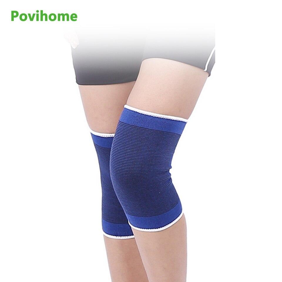 Elastic Bandage Blue Knee Braces Knee Support Brace Foot Arthritis