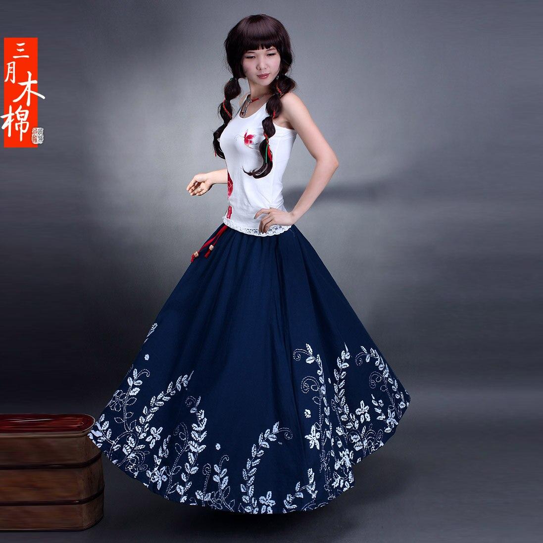 Popular Long Printed Skirts-Buy Cheap Long Printed Skirts lots ...