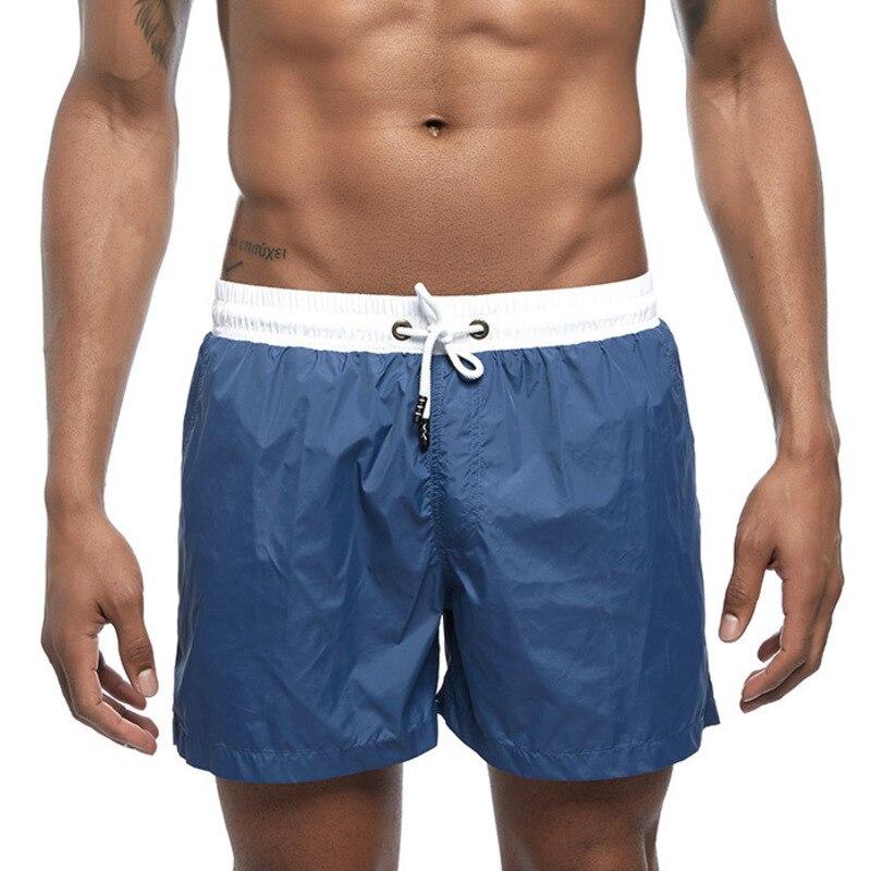 Fast Dry Board Shorts Mens Swimwear Swim Shorts Swimming Trunk Beach Boardshorts Surf Suit Men Gym Sport Running Workout Short