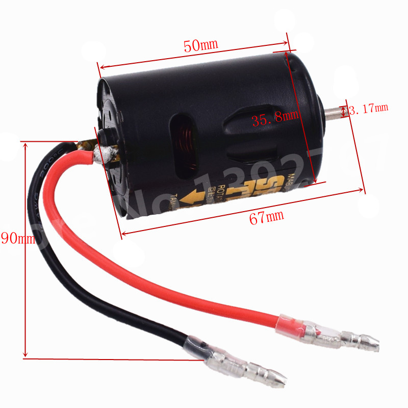 RC Car 540 Brushed Motor 54658 High Torque Tuned for TAMIYA Axial SCX10