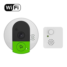 CE High Quality 720P Motion Detection Alarm WiFi Smart Doorbell Phone System Video Door Peephole